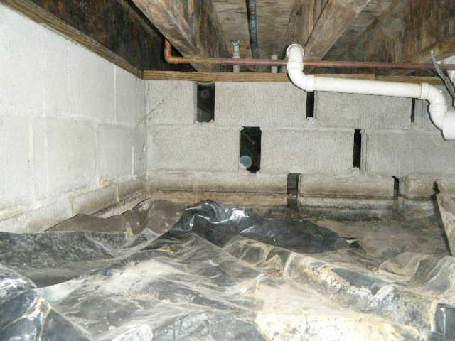 CleanSpace Crawl Space Encapsulation in Dix, Illinois