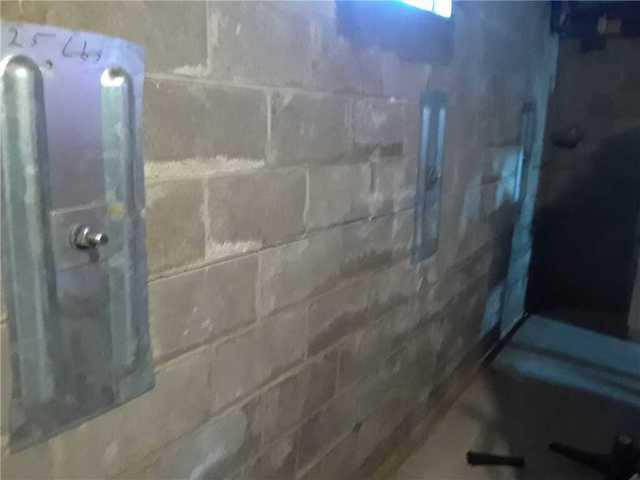 Geo-Lock Wall Anchors Restore Bowing Wall in Xenia, Illinois