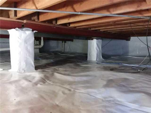 CleanSpace Protects Crawlspace in Millstadt, IL