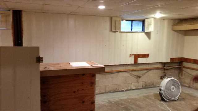 Waterproofing and Finished Basement in Belleville, Illinois
