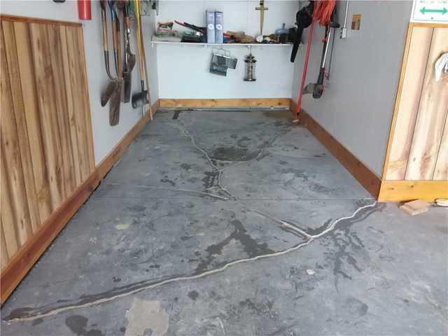 PolyLevel Repairs Cracked Garage Floor in Ballwin, MO