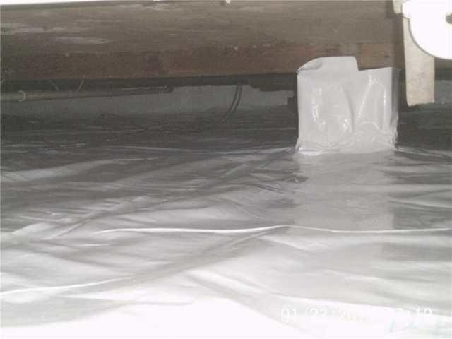 CleanSpace Crawl Space Encapsulation in Vergennes, Illinois