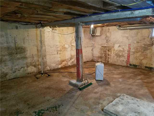 CleanSpace and Waterproofing in Basement