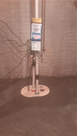 New Sump Pump in Findlay, Illinois