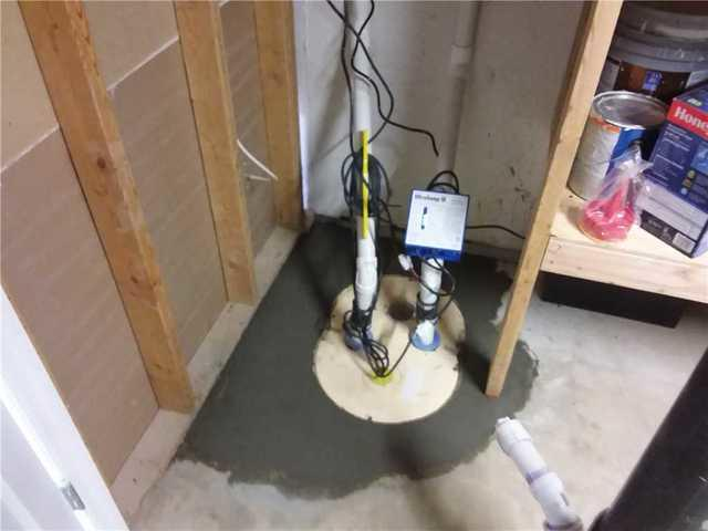 Waterproofing System Installed in Chesterfield, Illinois