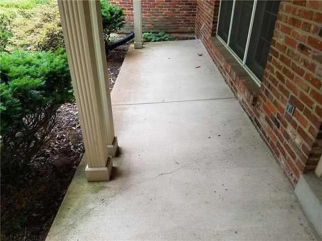 Kirkwood, MO Porch Lifted with PolyLevel