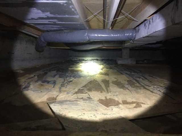 Crawl Space Repaired in Jackson, Missouri Home