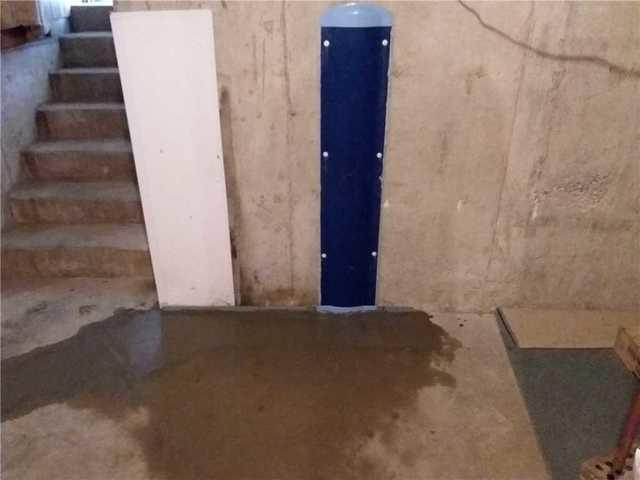 Leaky Basement Restored by WaterGuard in Alhambra, IL
