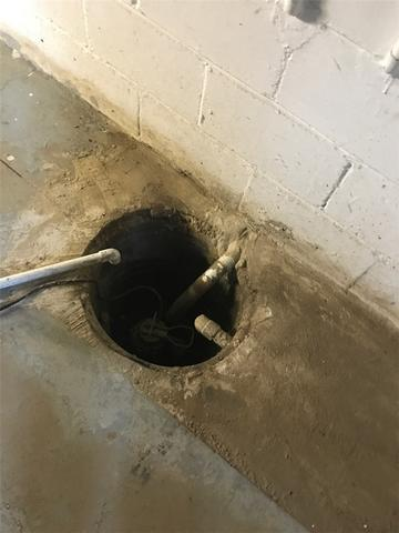 New TwinPack Sump Pump Installed in Carrollton, IL Wet Basement