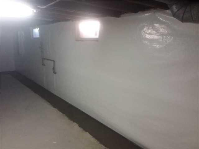 CleanSpace & WaterGuard Water Prevention Products Installed in Carrollton, IL Basement