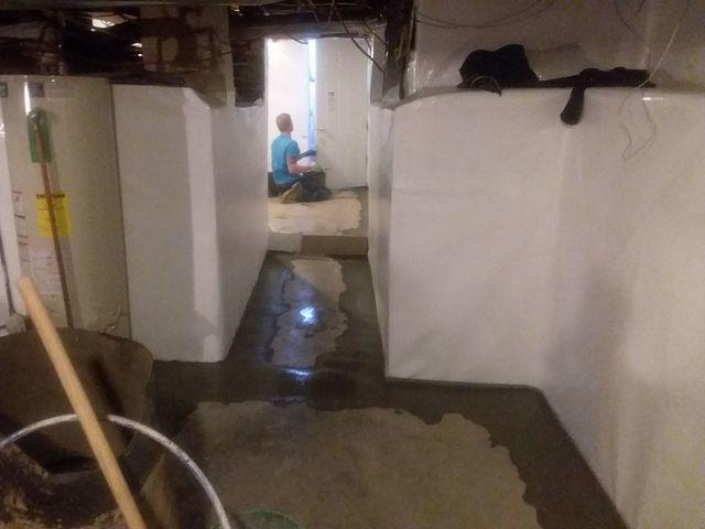 CleanSpace & WaterGuard Restore Pinckneyville, IL Basement After Heavy Rain