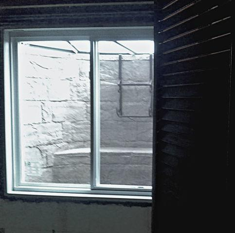 Pana, IL Basement Adds Egress Window to Basement