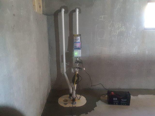 TripleSafe Sump Pump System in Zalma, Missouri