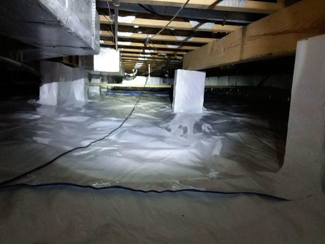 Urbana, IL Crawl Space Adds CleanSpace for Repair