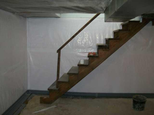 Bloomsdale, MO Wet Basement Installs CleanSpace for Protection
