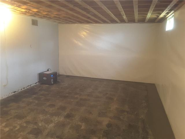 Clean, Sealed Basement in Scott City, MO is Ready For Use