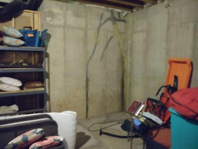 Unfinished Section of St. Louis, MO Basement Installs CleanSpace & WaterGuard