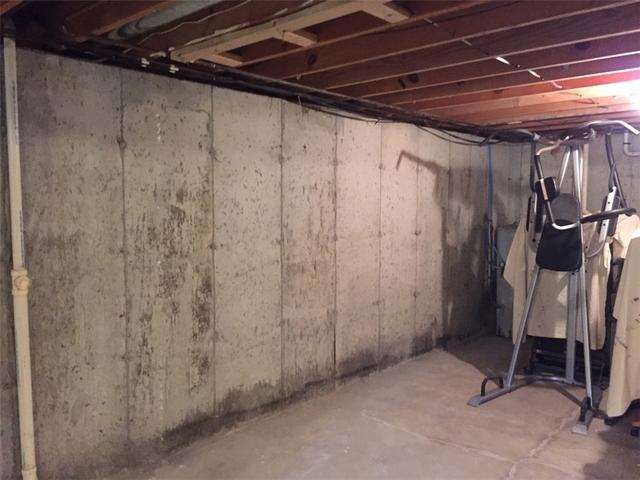 Unprotected Basement Protected with TripleSafe & WaterGuard in Robertsville, MO