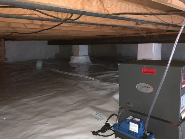 Fresh & Clean O'Fallon, IL Crawl Space Thanks to CleanSpace