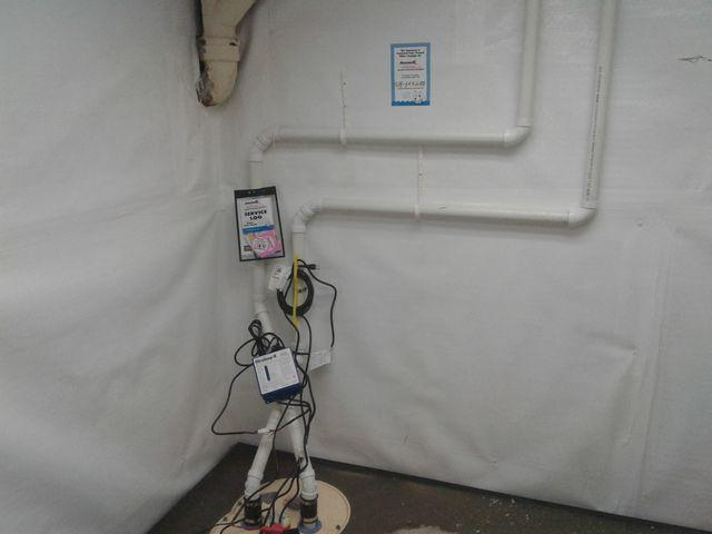 Leaky, Moldy City Hall Basement in Richmond Heights, MO Fitted With TripleSafe