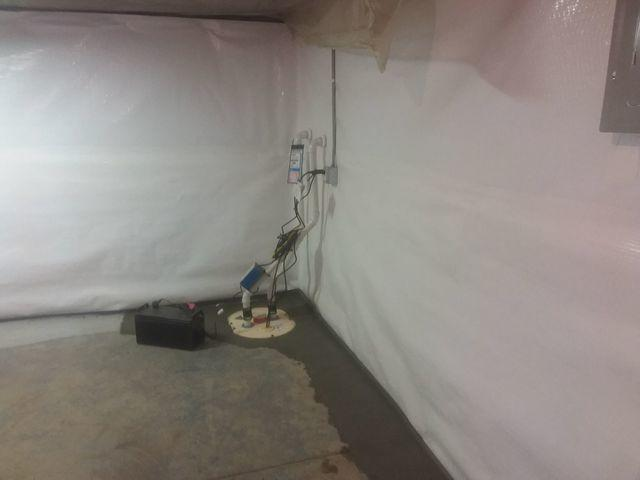 Leaking Bel-Ridge, MO Basement Unrecognizable After CleanSpace, TripleSafe, and WaterGuard Installed