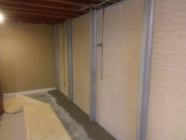 Fairview Heights, IL Finished Basement Waterproofed with WaterGuard