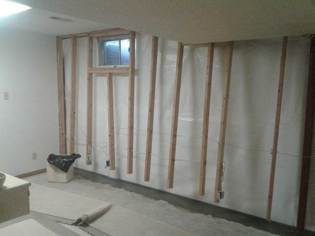 EverLast Walls Finish Basement in Granite City, IL