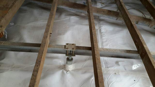 Old, Weak Floor Joists Supported With Smart Jacks In Waggoner, IL