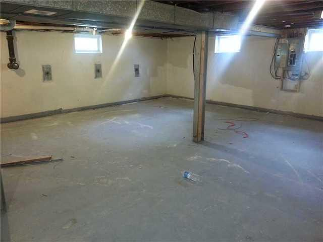 Cracking Basement Wall In Jonesburg, MO Supported With GeoLock Anchors