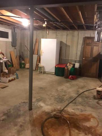Wet Wildwood, MO Basement Made Dry With WaterGuard and TwinPack