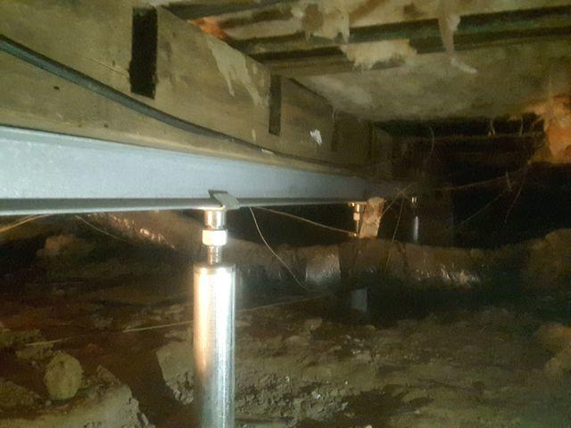 Sagging Floors In Tower Hill, IL Supported With Smart Jacks