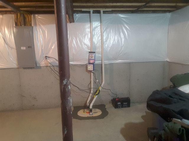Old, Inadequate Sump Pump Replaced With TripleSafe In Belleville, IL
