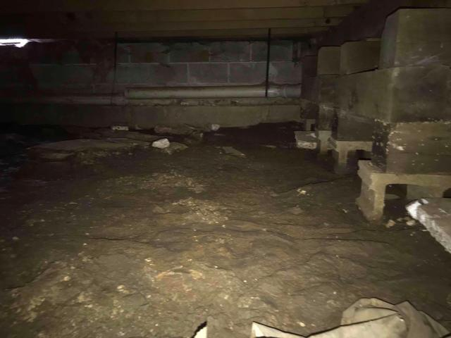 Wet Fairview Heights, IL Crawl Space Fitted With CleanSpace