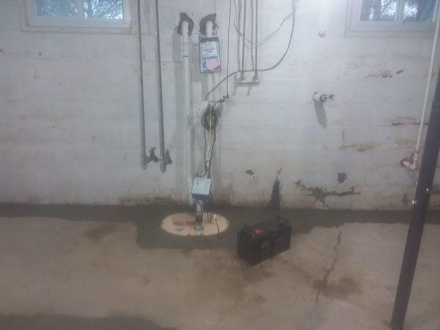 Old, Inefficient Sump Pump Replaced With TripleSafe In Olney, IL