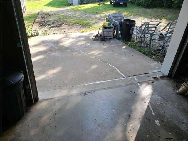 Sunken, Cracked Driveway Fixed With PolyLevel In Labadie, MO
