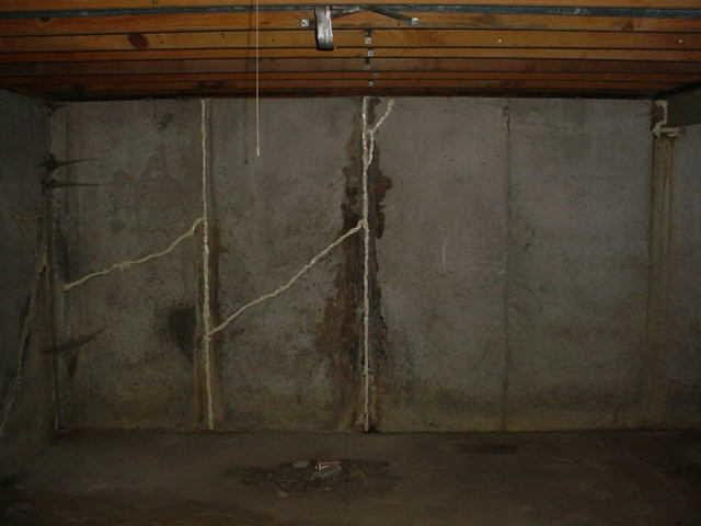 Cracked, Bowing Basement Walls Supported With GeoLock In Fulton, MO