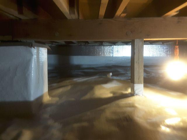 Unkept Crawl Space Cleaned & Maintained with CleanSpace in St. Louis, MO