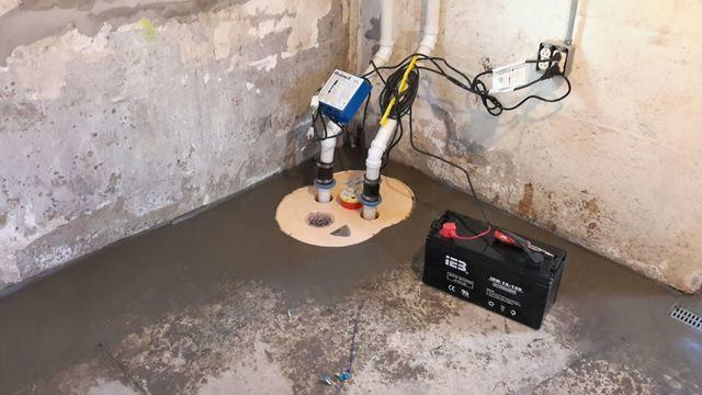 Old, Ineffective Sump Pump Replaced With TripleSafe In Affton, MO