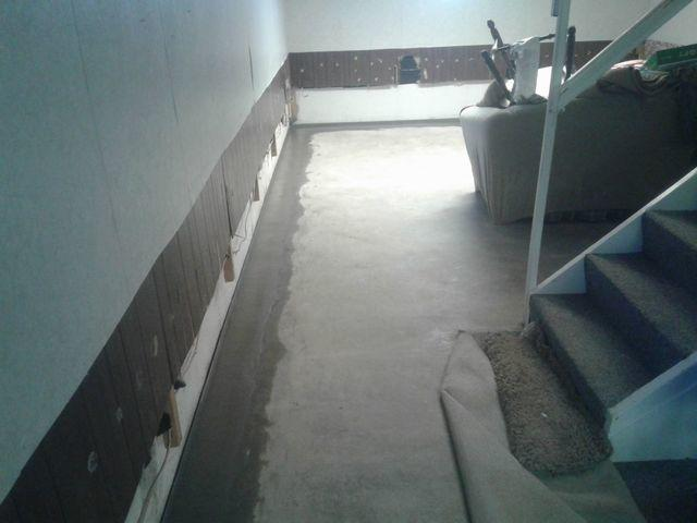 Leaking Sparta, IL Basement Walls Fitted With WaterGuard