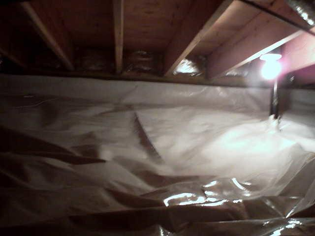 Resealed New Memphis, Illinois Crawl Space with CleanSpace