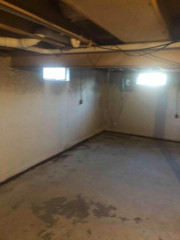 Water Stained Effingham, Illinois Basement Restored with WaterGuards