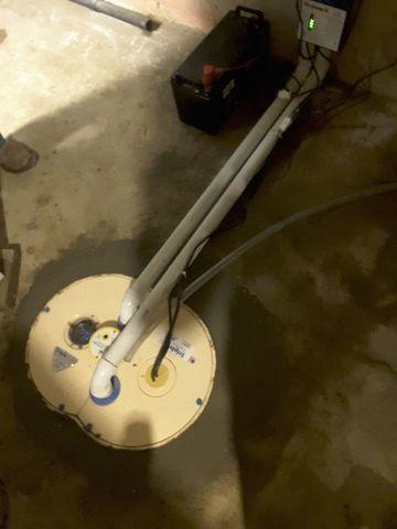 Ineffective, Loud Sump Pump Replaced With TripleSafe In Edwardsville, IL