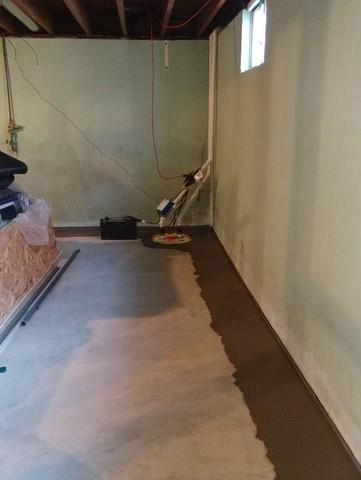 Wet Basement Fitted With WaterGuard And TripleSafe In Crystal City, MO