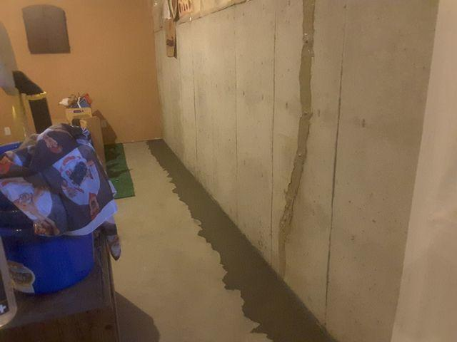 Wet Maryville, IL Basement Fitted With WaterGuard