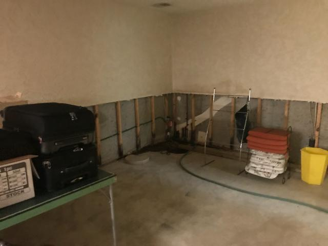 Leaky West County Basement Made Dry With WaterGuard