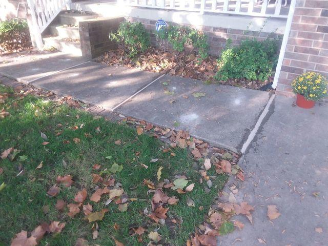 Uneven Belleville, IL Walkway Lifted With PolyLevel