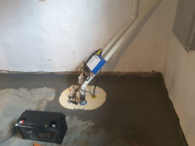 TripleSafe Sump Pump Discards of Water Leaks in Charleston, IL