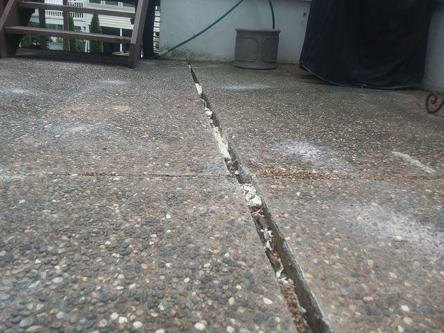Damaged Florissant, MO Patio Repaired With PolyLevel