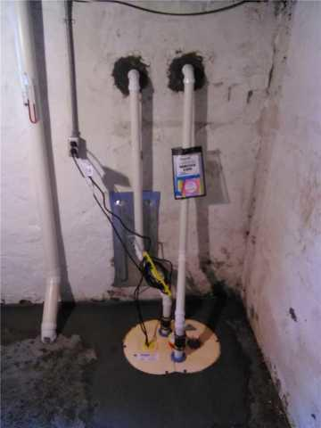 Old Sump Pump Replaced With TripleSafe In Webster Groves, MO