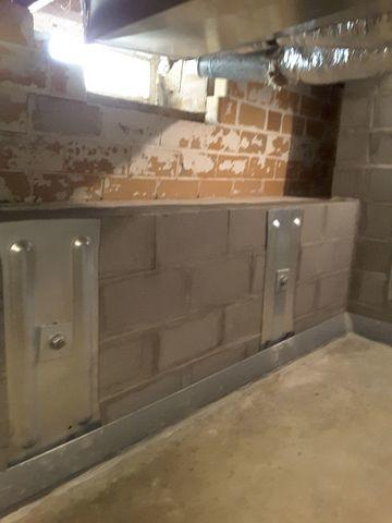 Geo-Lock Wall Anchors Reinforce Cracked Walls in Highland, IL